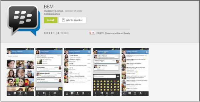 BBM for Andorid & iOS