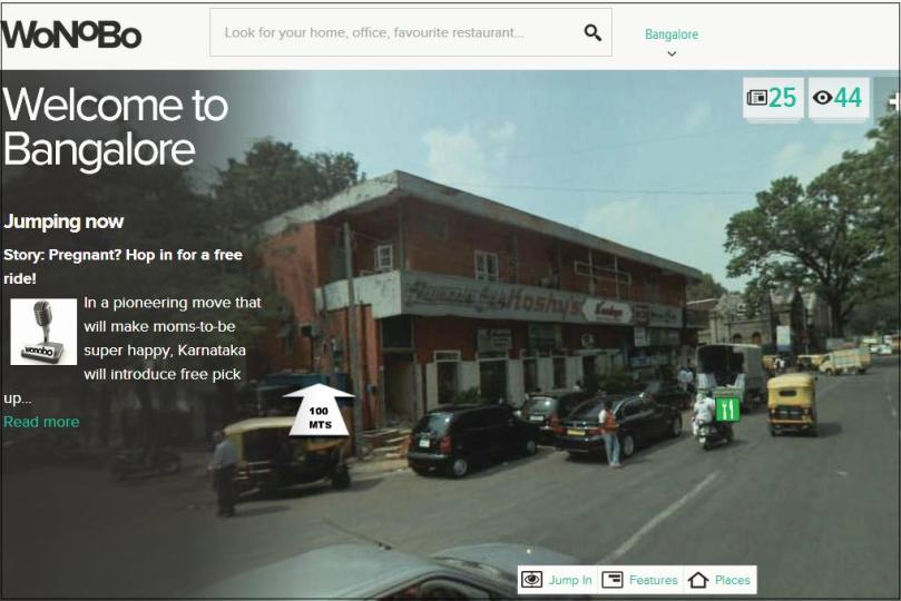 wonobo.com - India's 360 Degree Street View Maps