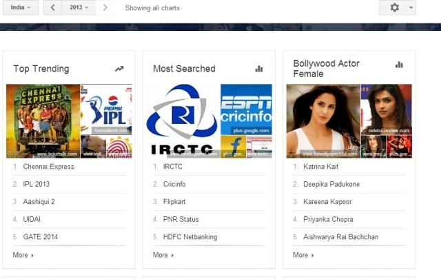 Google 2013 Trends India