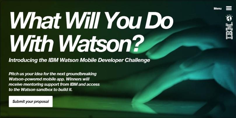 IBM Watson Mobile Developer Challenge