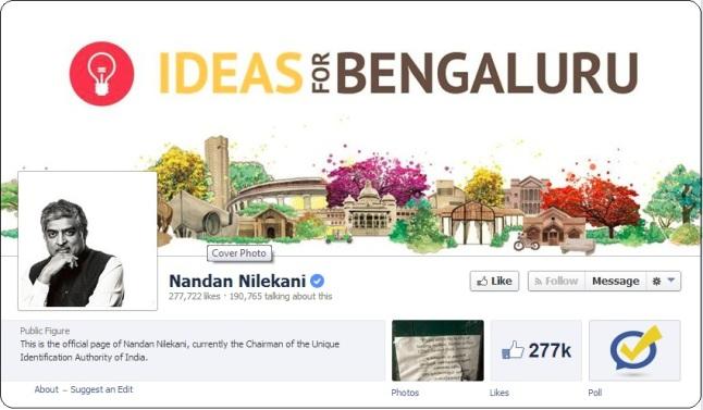 nandan nilekani for bangalore