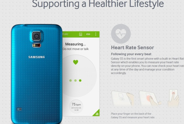 Samsung Galaxy S5 in India