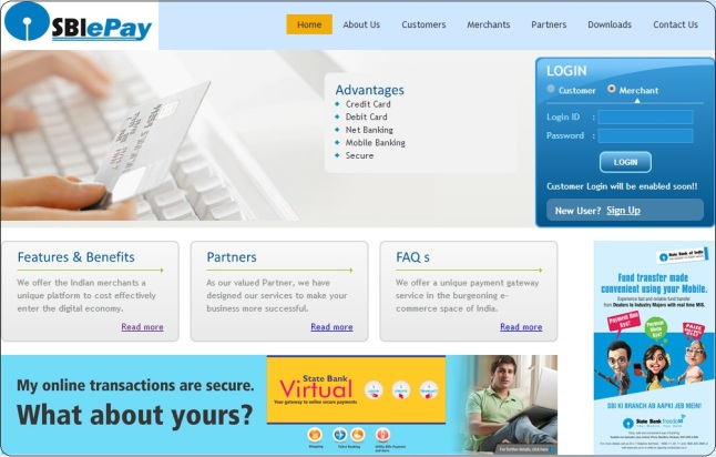 sbiepay - sbi online payment gateway