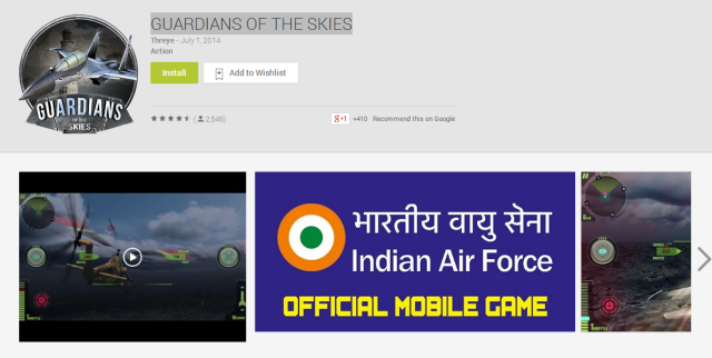 GUARDIANS OF THE SKIES   IAF